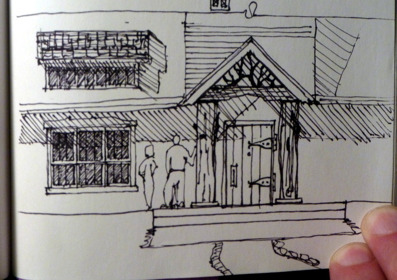 Study Sketch of the Kilpatrick Home Design by MOD