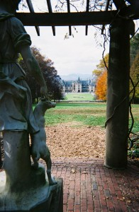 Biltmore View from Dianne Statue