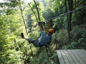 The Gorge Zipline. .Saluda, NC