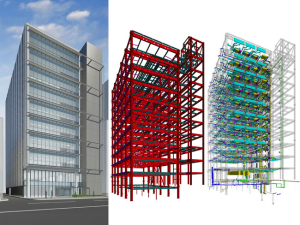 Modern BIM Model Rendering - via www.builtworlds.com
