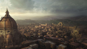 Renaissance Italy in Assassin's Creed II and Assassin's Creed Brotherhood via Architizer, link above.